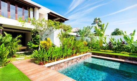 Entreprise pour terrassement de terrain avant construction de piscine à Cognin